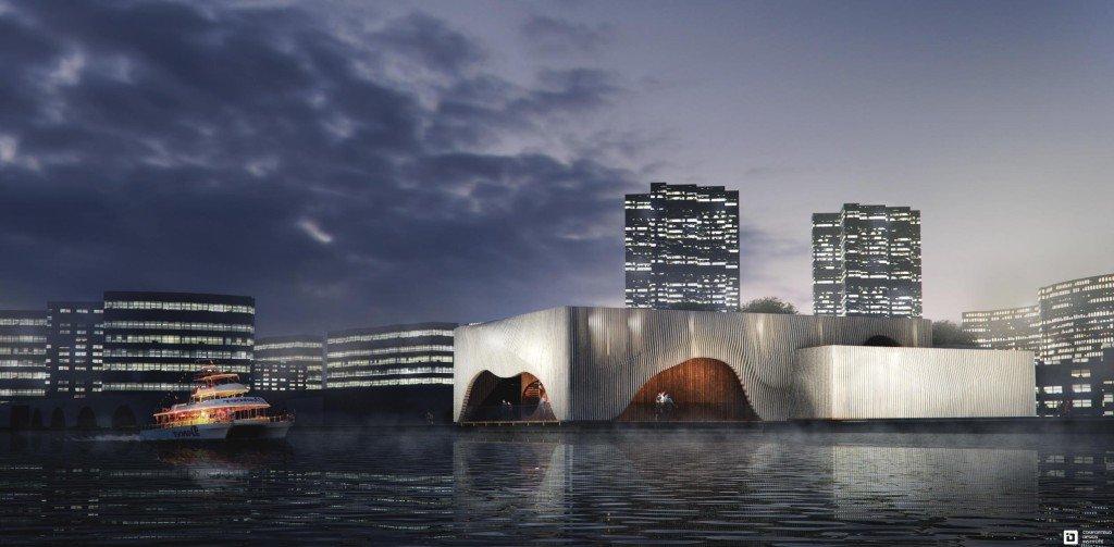 Floating Theatre in Berlin